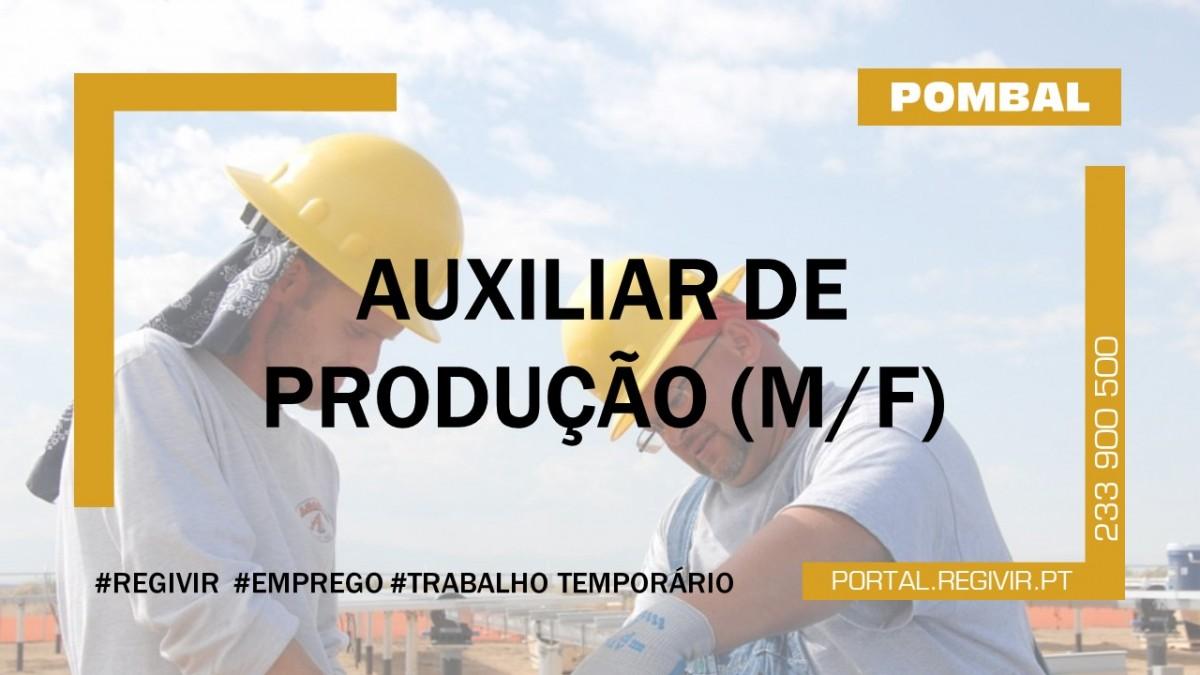 20190049 AUXILIAR DE PRODUÇAÕ POMBAL