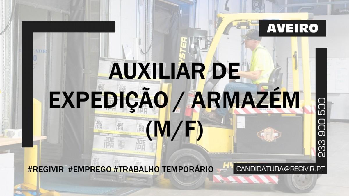 20190097 AUXILIAR DE EXPEDIÇÃO AVEIRO
