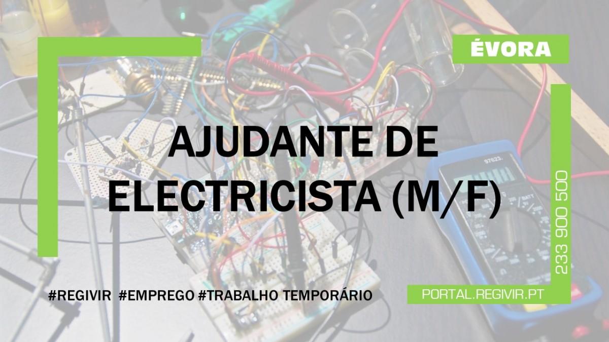 20190111 Ajudante de electricista Evora