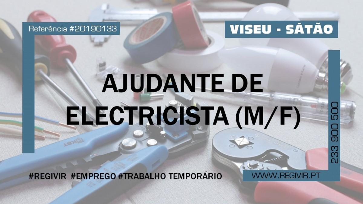 20190133 Ajudante de Electricista (satao)