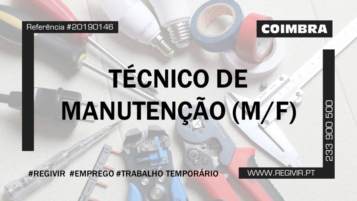 20190146 Tecnico de manutenção Coimbra