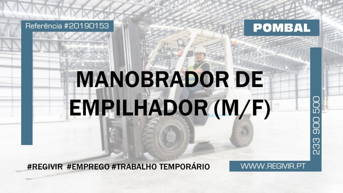 20190153 Manobrador de Empilhador