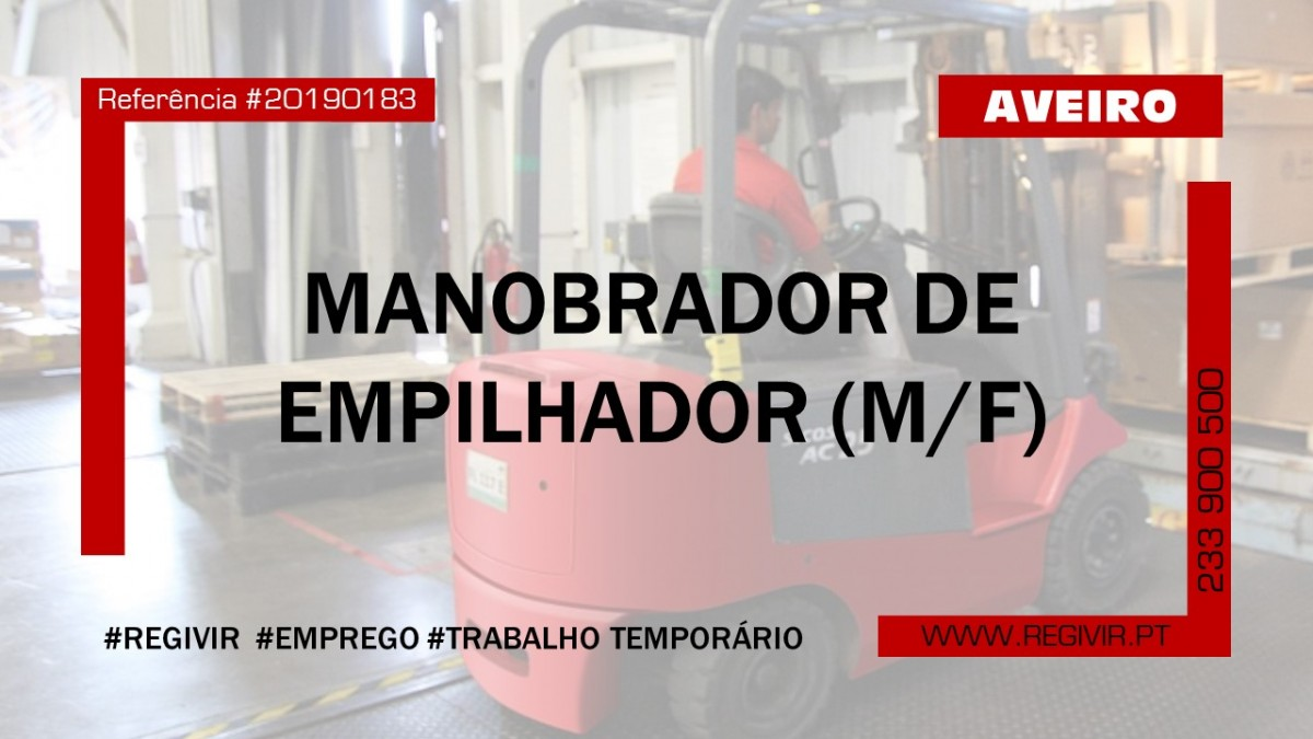 20190183 - Manobrador Aveiro