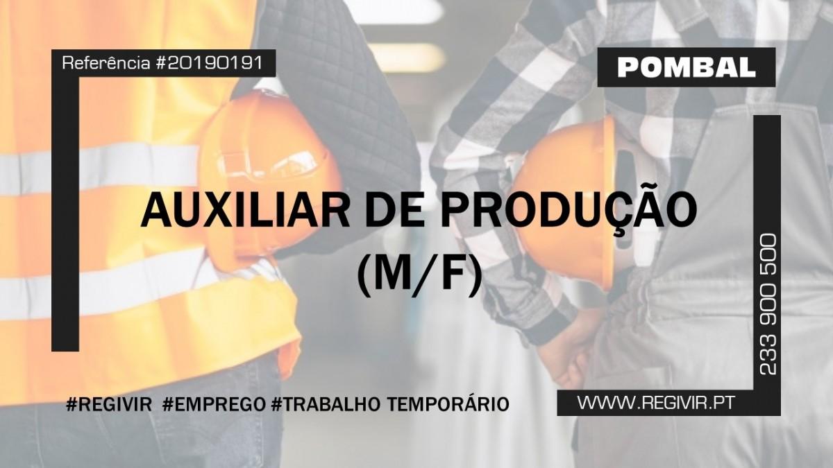 20190191 - Auxiliar de Produção