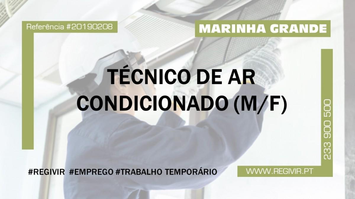 20190208 - Tecnico de Ar Condicionado