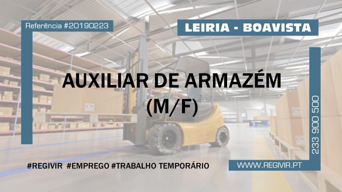 20190223 - Auxiliar de Armazem
