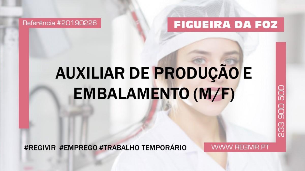 20190226 - Auxiliar de Produção Embalamento