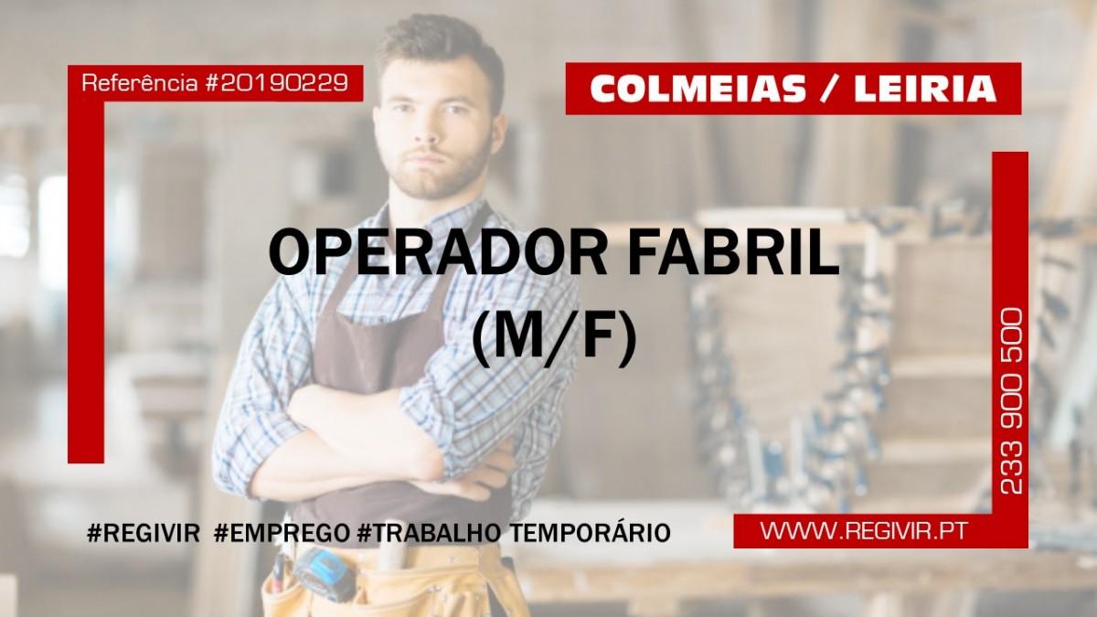 20190229 - Operador Fabril