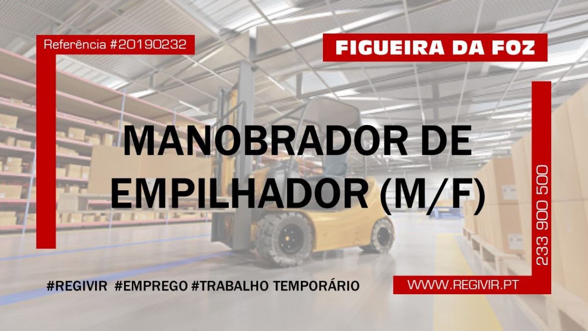 20190232 - Manobrador de Empilhador