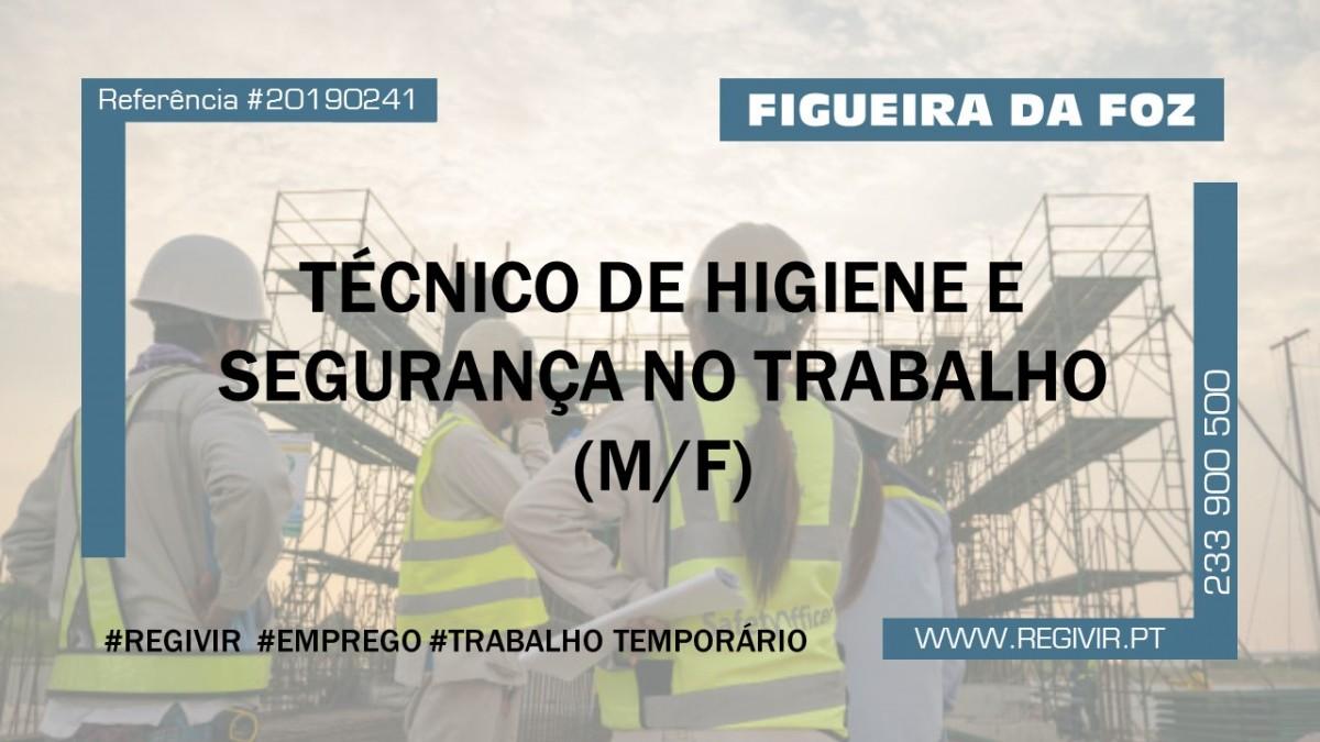 20190241 - Tecnico de Higiene e Seguranca