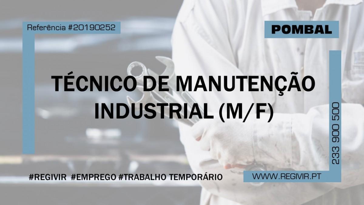 20190252 - Tecnico de Manutenção Industrial