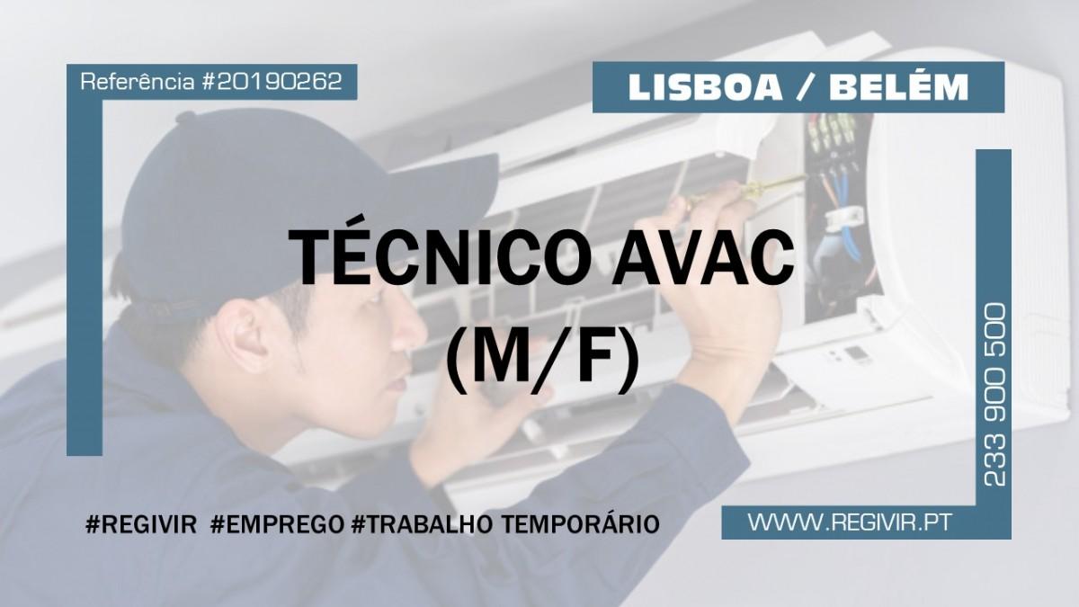 20190262 - Tecnico AVAC