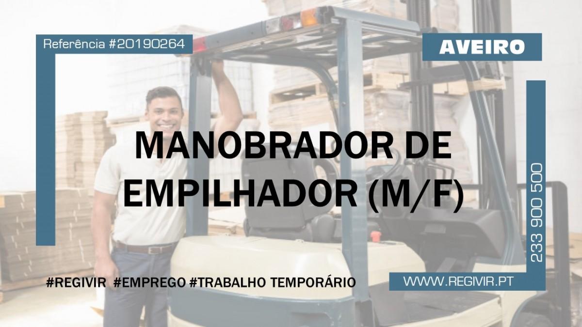 20190264 - Manobrador de Empilhador