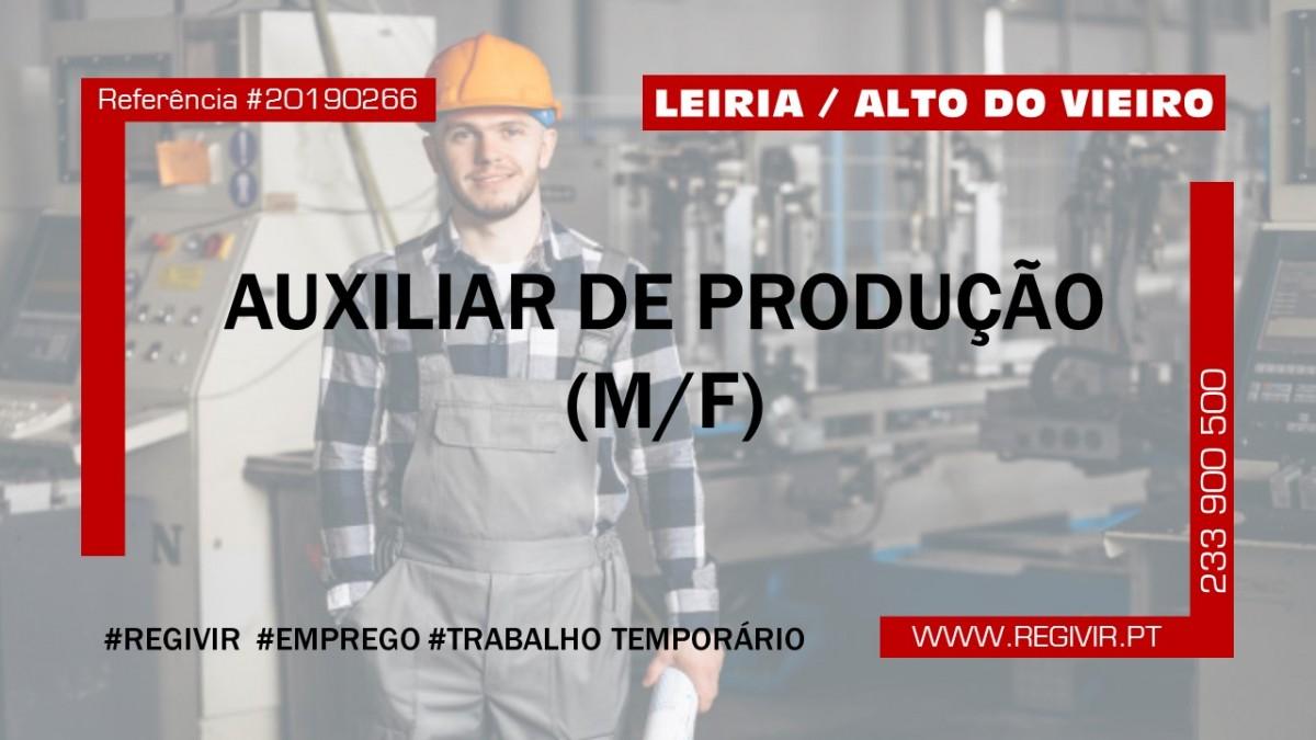 20190266 - Auxiliar de Produção